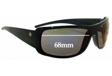 Sunglass Fix Sunglass Replacement Lenses for Electric Charge XL - 68mm Wide