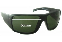Sunglass Fix Sunglass Replacement Lenses for Electric D. Payne - 66mm Wide