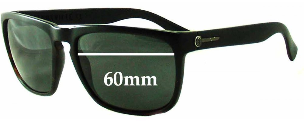 b832bd7024b Electric Knoxville XL Sunglass Replacement Lenses - 60mm Wide  Frames will  say XL - 2 versions