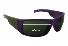 Sunglass Fix Sunglass Replacement Lenses for Electric Mud Slinger - 65mm Wide x 42mm Tall