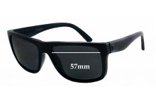 Sunglass Fix Sunglass Replacement Lenses for Electric Swingarm - 57mm Wide