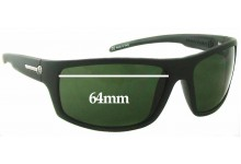 Sunglass Fix Sunglass Replacement Lenses for Electric Tech One - 64mm Wide