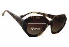 Sunglass Fix Sunglass Replacement Lenses for Elizabeth & James Brickell Hexagonal Oversized - 53mm Wide