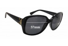 Sunglass Fix Sunglass Replacement Lenses for Emporio Armani EA 4018 - 57mm Wide x 52mm Tall
