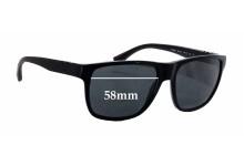Sunglass Fix Sunglass Replacement Lenses for Emporio Armani EA 4035 - 58mm Wide