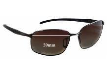 Sunglass Fix Sunglass Replacement Lenses for Erroca 09EMN7720 - 59mm Wide