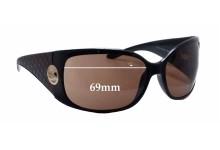 Sunglass Fix Sunglass Replacement Lenses for Escada SES 128V - 69mm Wide