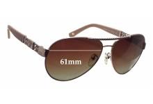 Sunglass Fix Sunglass Replacement Lenses for Escada SES 862 - 61mm Wide