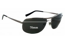 Sunglass Fix Sunglass Replacement Lenses for Fat Head F-H00144 The Law XL - 70mm Wide