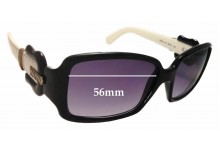 Sunglass Fix Sunglass Replacement Lenses for Fendi FS 383 - 56mm Wide