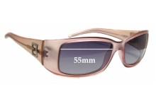 Sunglass Fix Sunglass Replacement Lenses for Fendi FS 333 - 55mm Wide