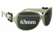 Sunglass Fix Sunglass Replacement Lenses for Fendi FS 384 - 63mm Wide