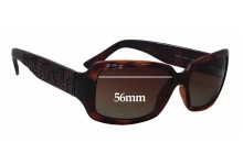 Sunglass Fix Sunglass Replacement Lenses for Fendi FS 5008 - 56mm Wide