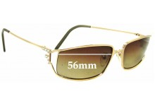 Sunglass Fix Sunglass Replacement Lenses for Fendi SL 7466S - 56mm Wide