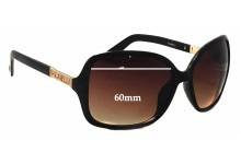 Sunglass Fix Sunglass Replacement Lenses for Fiorelli Lorelle - 60mm Wide
