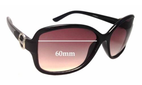 Sunglass Fix Sunglass Replacement Lenses for Fiorelli Sabrina - 60mm wide