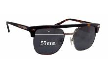 Sunglass Fix Sunglass Replacement Lenses for Flint Elsotsday - 55mm Wide