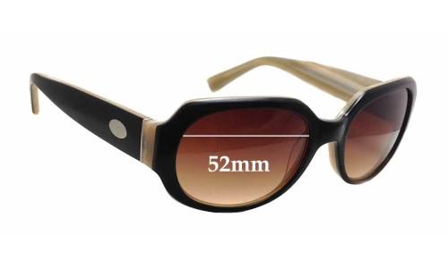 Sunglass Fix Sunglass Replacement Lenses for Fossil Hannah - 52mm Wide x 40mm Tall