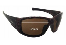 Sunglass Fix Sunglass Replacement Lenses for Fuglies RX05  - 65mm Wide x 43mm Tall