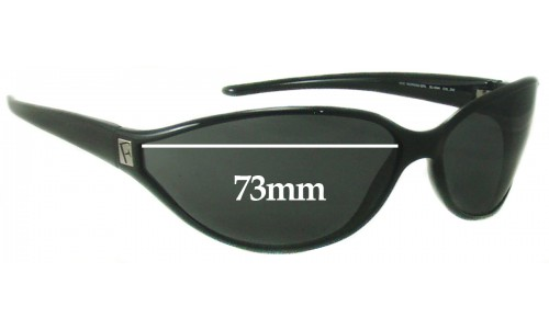 Sunglass Fix Sunglass Replacement Lenses for Furla Working Girl SU4544 - 73mm Wide