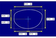Sunglass Fix Sunglass Replacement Lenses for Fendi VL 7718S - 54mm Wide