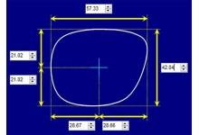 Sunglass Fix Sunglass Replacement Lenses for Flint Mcqueen - 57mm Wide