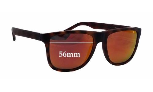 Sunglass Fix Sunglass Replacement Lenses for Gant GS 7020 - 56mm Wide