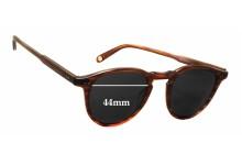 Sunglass Fix Sunglass Replacement Lenses for Garrett Leight Hampton - 44mm Wide