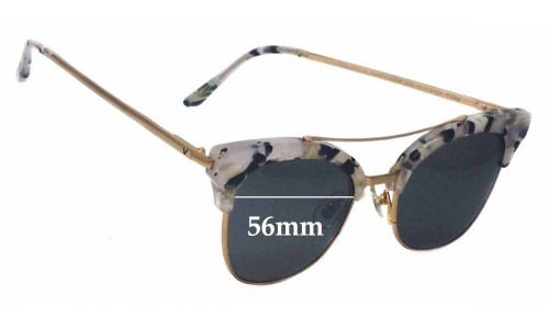 Sunglass Fix Sunglass Replacement Lenses for Gentle Monster Tell Me - 56mm Wide