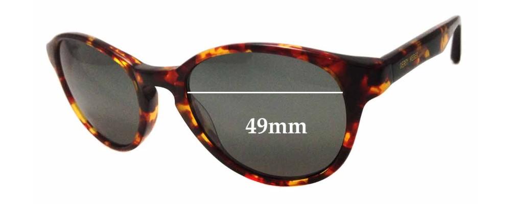 Sunglass Fix Sunglass Replacement Lenses for Gerry Webber GWR004 - 49mm Wide