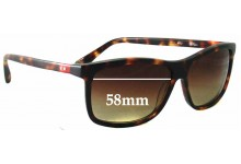 Sunglass Fix Sunglass Replacement Lenses for Gigi Barcelona Mod 403 - 58mm Wide