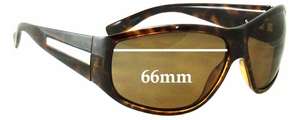 7973711da0 Giorgio Armani GA 594 S Sunglass Replacement Lenses - 66mm wide ...