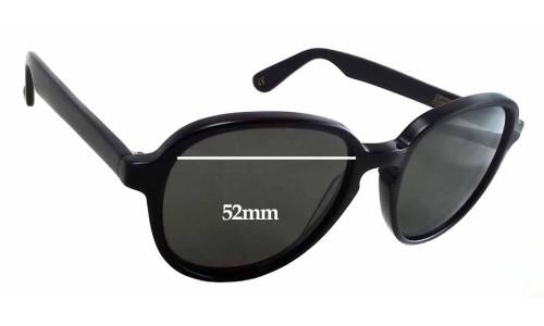 Sunglass Fix Sunglass Replacement Lenses for Graz - Geeg 046-1 - 52mm Wide - 47mm Tall
