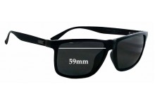 Sunglass Fix Sunglass Replacement Lenses for Gucci GG 1083/F/S - 59mm Wide