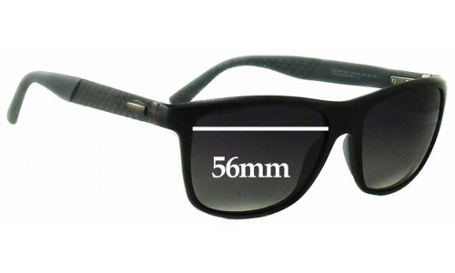 Sunglass Fix Sunglass Replacement Lenses for Gucci GG1047/N/S - 56mm Wide