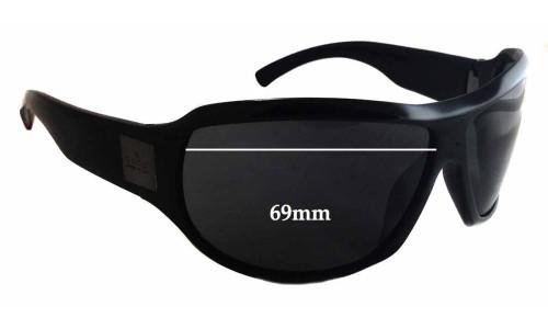 Sunglass Fix Sunglass Replacement Lenses for Gucci GG1562/S - 69mm wide - 49mm tall