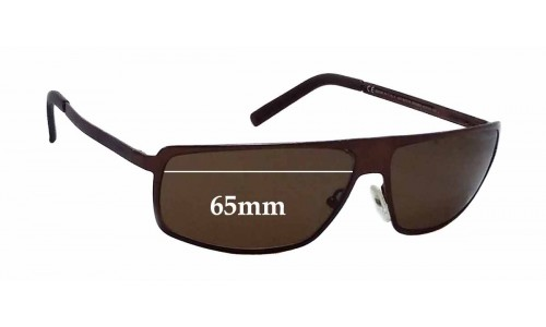 Sunglass Fix Sunglass Replacement Lenses for Gucci GG1826/S - 65mm Wide *The Sunglass Fix Cannot make lenses for these frames*