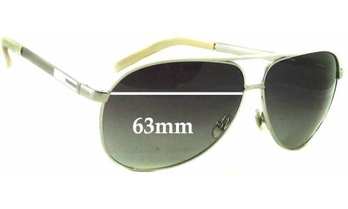 Sunglass Fix Sunglass Replacement Lenses for Gucci GG1827/S Replacement Sunglass Lenses - 63mm wide