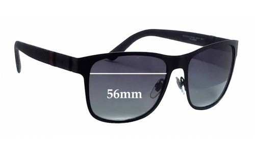 Sunglass Fix Sunglass Replacement Lenses for Gucci GG2247/S - 56mm Wide