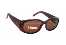 Sunglass Fix Sunglass Replacement Lenses for Gucci GG 2451/S - 53mm Wide x 31mm Tall