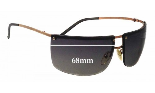 Sunglass Fix Sunglass Replacement Lenses for Gucci GG2653/S - 68mm wide