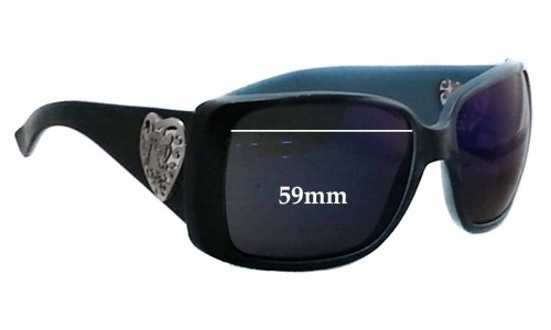 Sunglass Fix Sunglass Replacement Lenses for Gucci 3058/S - 59mm wide