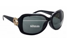 Sunglass Fix Sunglass Replacement Lenses for Gucci GG3068/F/S - 60mm Wide