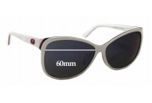 Sunglass Fix Sunglass Replacement Lenses for Gucci GG 3175/F/S - 60mm Wide x 50mm Tall