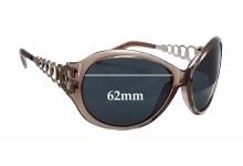 Sunglass Fix Sunglass Replacement Lenses for Guess GU6510 - 62mm Wide