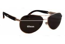 Sunglass Fix Sunglass Replacement Lenses for Guess GU7295 - 60mm Wide