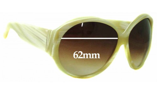 Sunglass Fix Sunglass Replacement Lenses for Gucci GG2927S - 62mm Wide