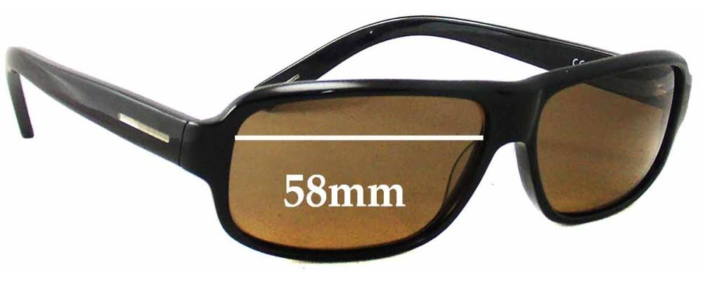 5117ee74565 Hugo Boss 0013 S Sunglass Replacement Lenses - 58mm wide
