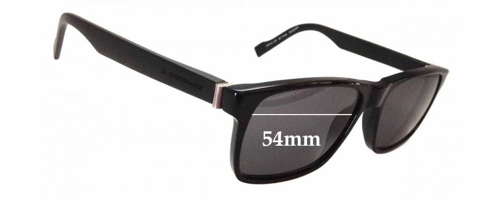 ab6f90ad509 Hugo Boss Orange BO 0146 Sunglass Replacement Lenses - 54mm wide ...