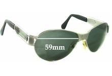 Sunglass Fix Sunglass Replacement Lenses for Harley Davidson HDZ 002 - 59mm Wide
